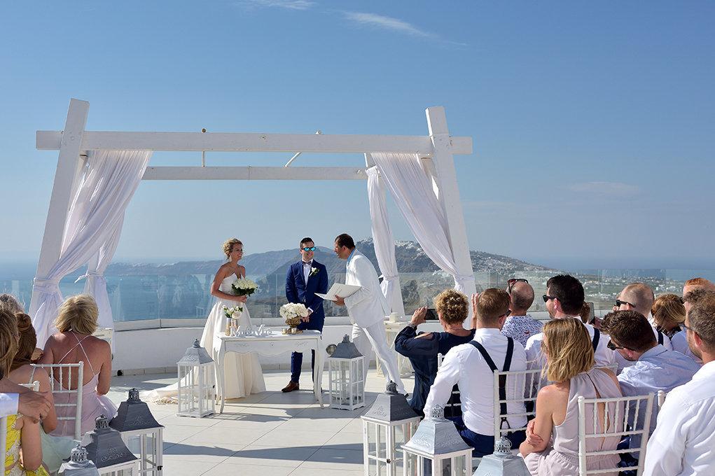 Fotografia ślubna Kielce, Santorini