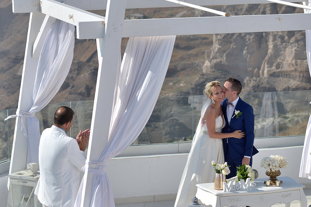 Fotografia ślubna Kielce, zdjęcia w Grecji, Santorini