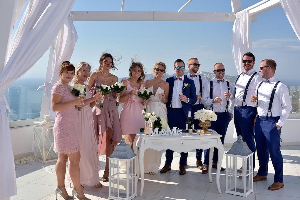 Fotografia ślubna Kielce, Grecja, Santorini, sesje za granicą